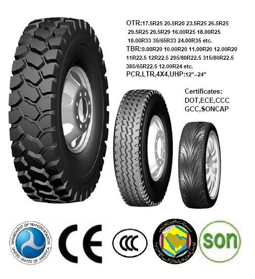 Chinese Famous Brand TBR Tire with Good Quality