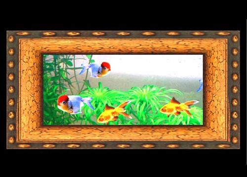 China wall mounted aquarium decorative aquarium wall fish for Wall hanging fish tank