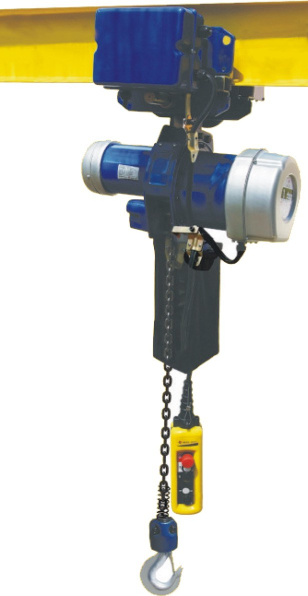 China Ty60 Series Electric Chain Hoist With Motor Trolley