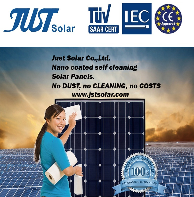 300W Mono Solar Panels with Nano Coated Self Cleaning