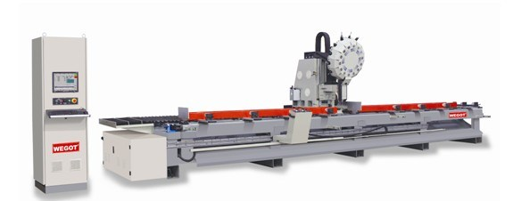 New Type High-Speed 3-Axis CNC Machining Center for Aluminum Window3