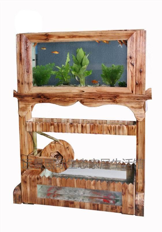 China acrylic aquarium into log screen log screen for Aquarium log decoration