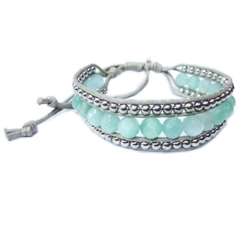 Amazon.com: White Pearls Shamballa Bracelet | White Freshwater