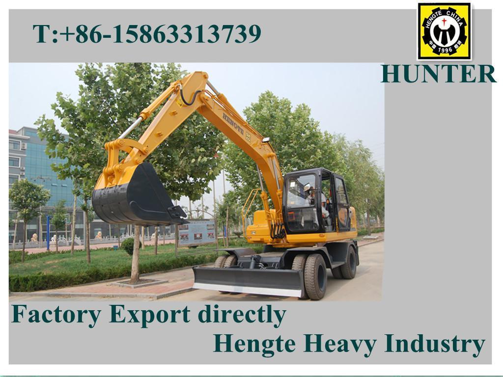 Hydraulic Wheeled Excavator (HTL120)