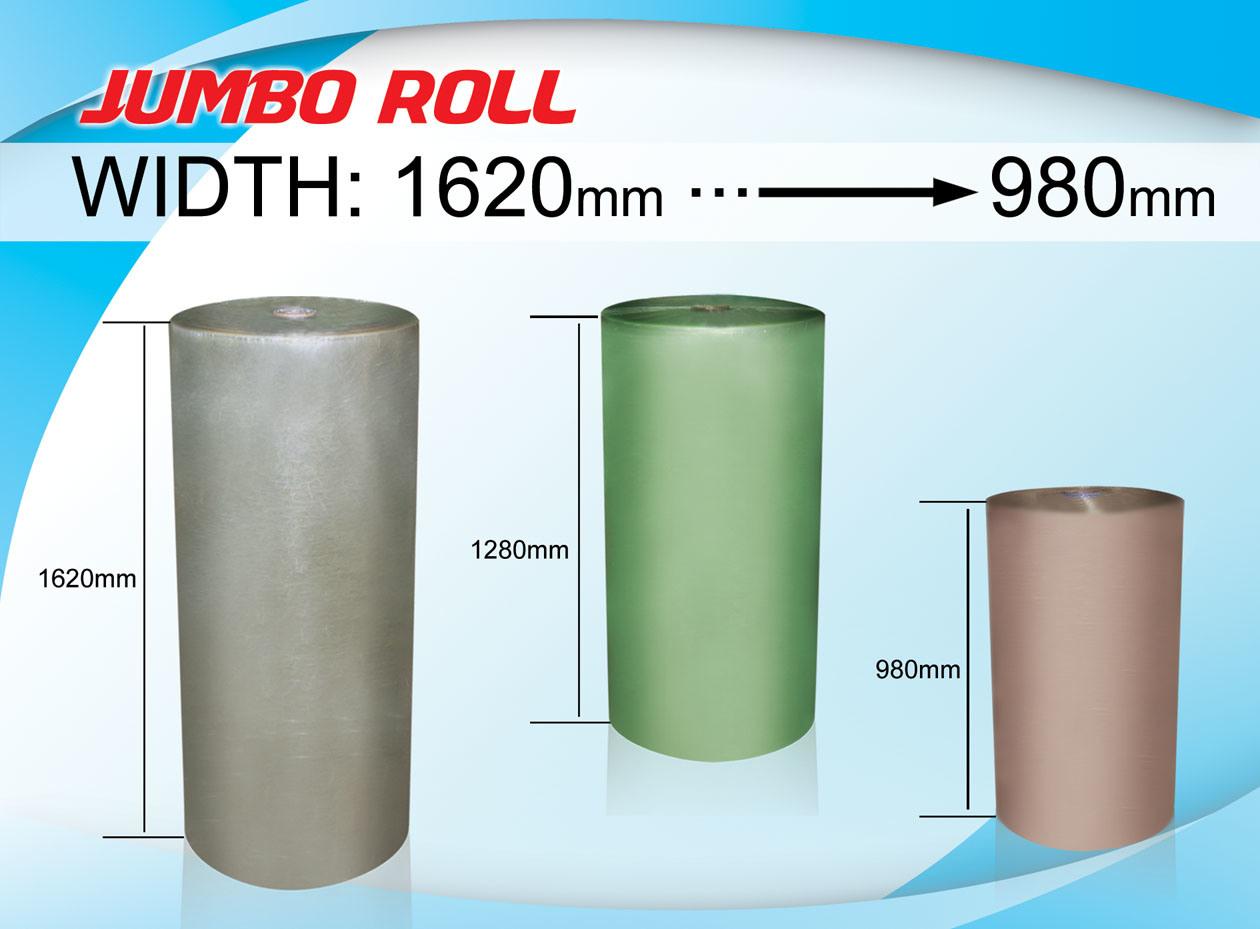 980mm to 1620mm Jumbo Roll BOPP Adhesive Tape