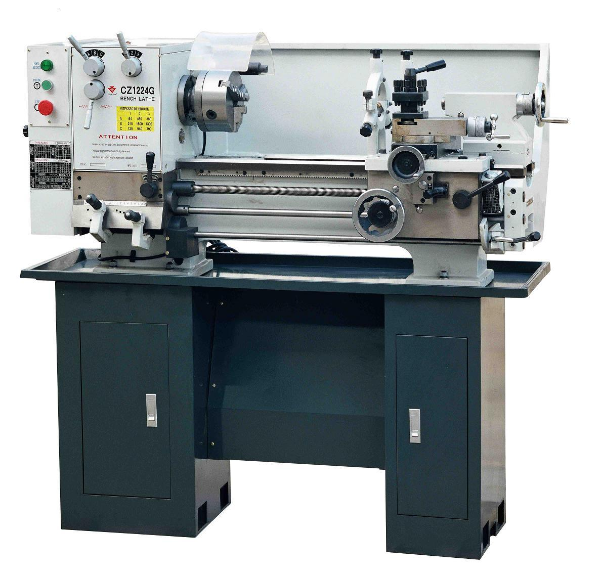 China Bench Lathe Cz1224g Cz1237g Photos Pictures Made In