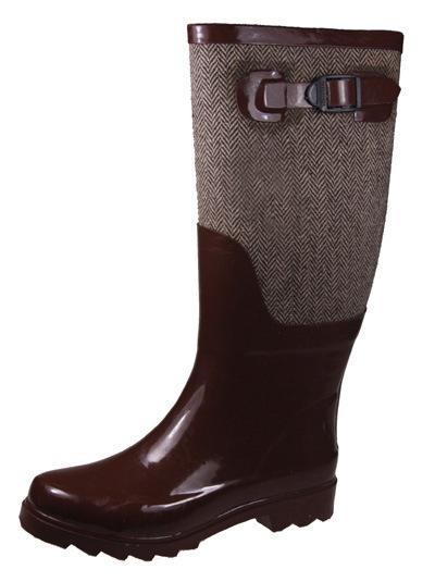 Very Beautiful Wellington Style Fashion Women Rubber Boots