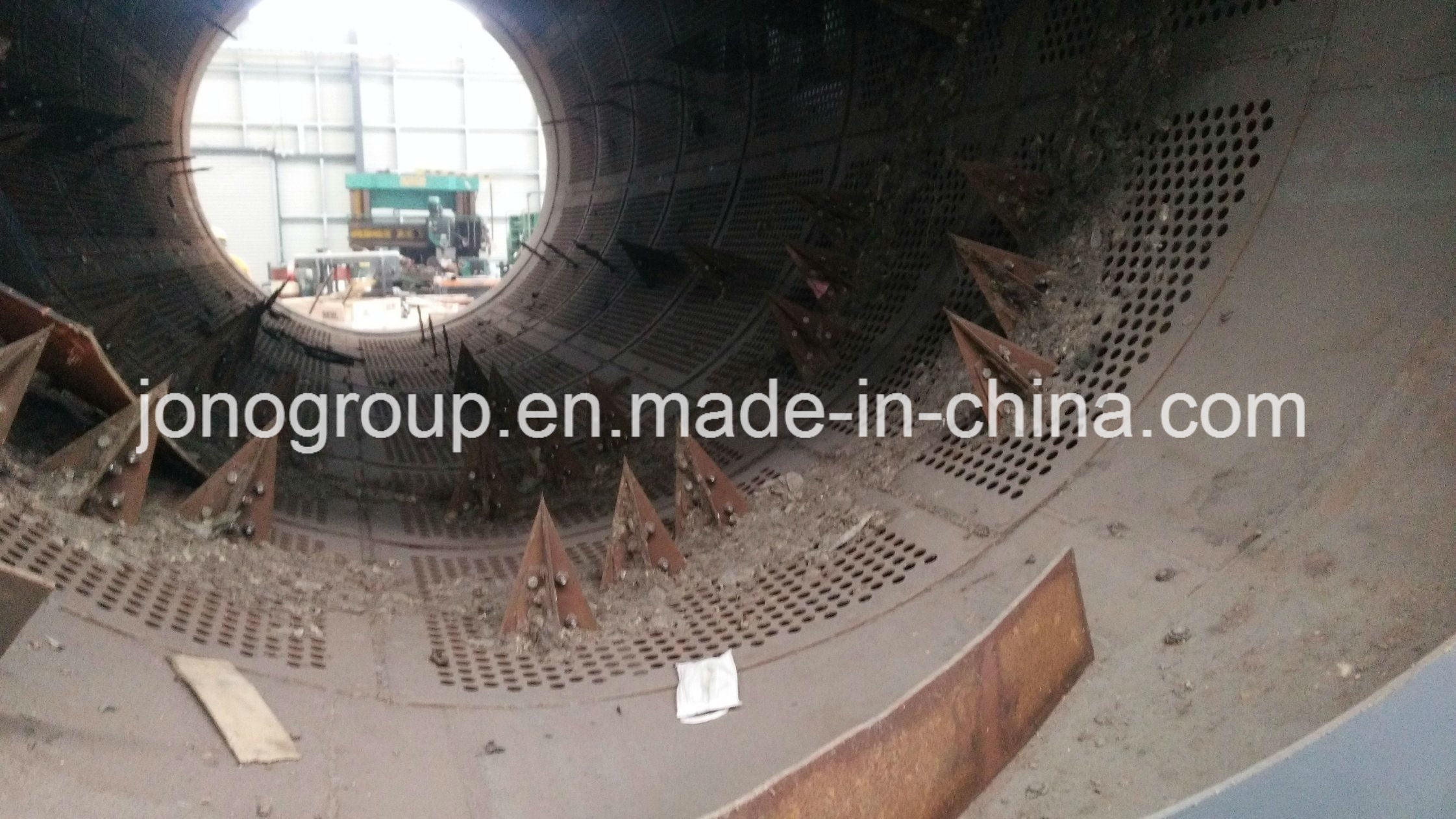 1hsd1712A Trommel Screen (rotary drum screen) for Metal Recycling/Msw