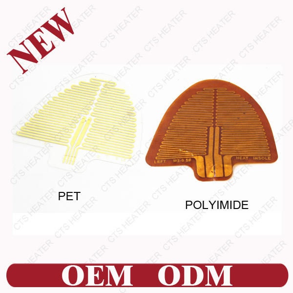 Flexible Polyimide Heating Film Cts-Pi-0003