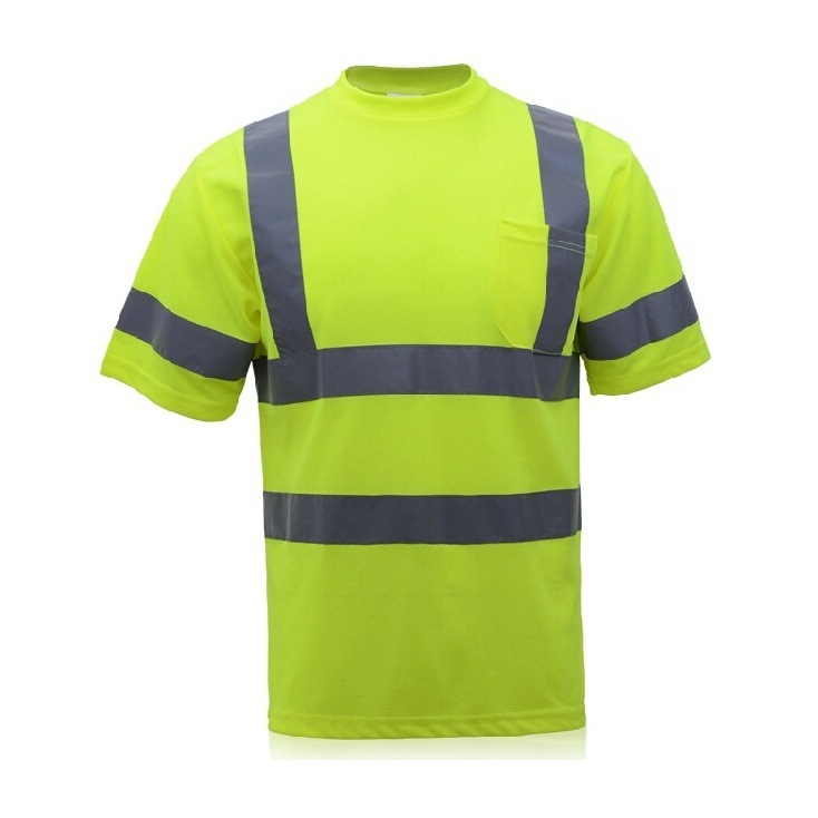 Reflective Safety T-Shirt for Safety