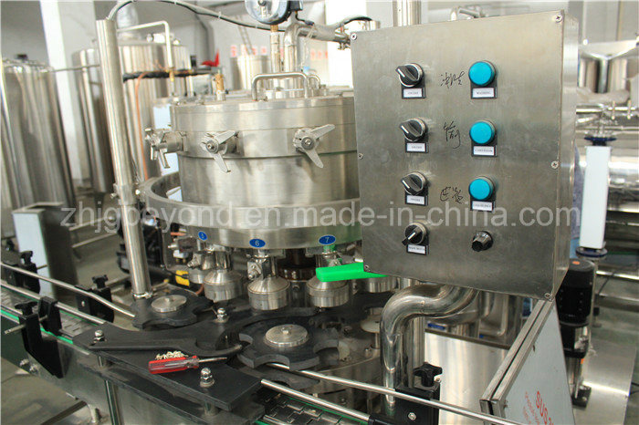 Automatic PLC Control Can Filling Machine for Juice or Water