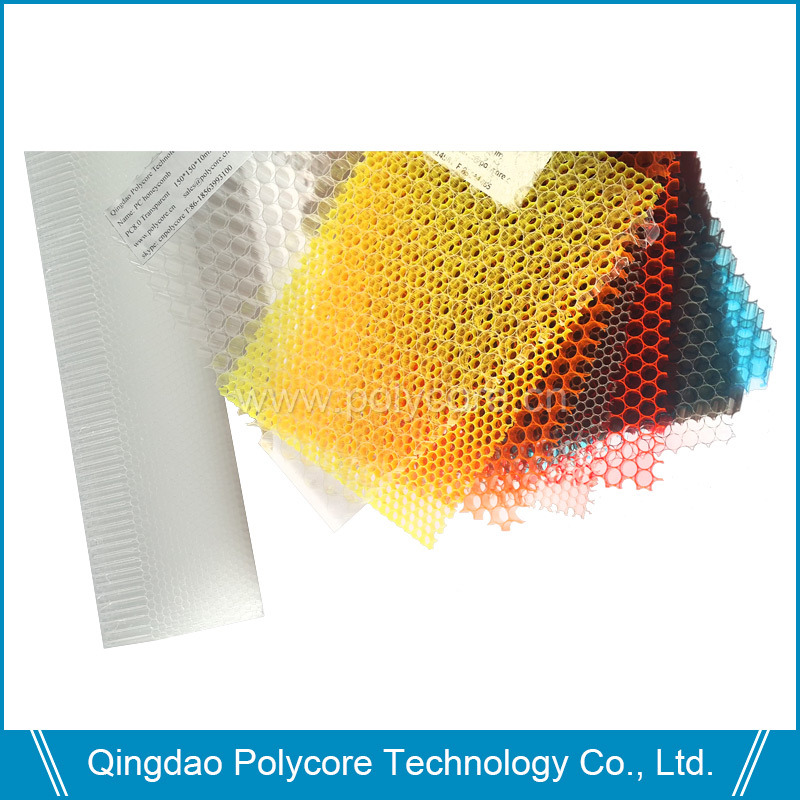 Plastic Honeycomb Board (PC6.0) Transparent PC Honeycomb Core