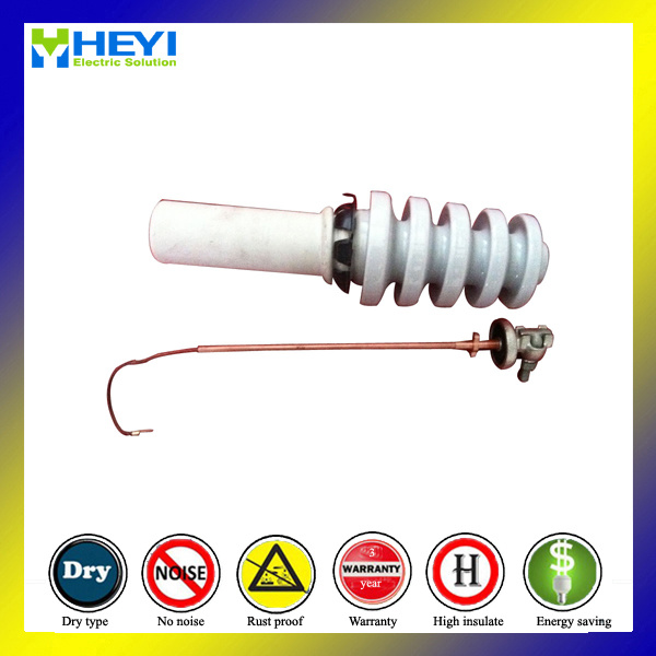 Primary Bushing Pole Power Transformer 18kv 250A with Brass Stud