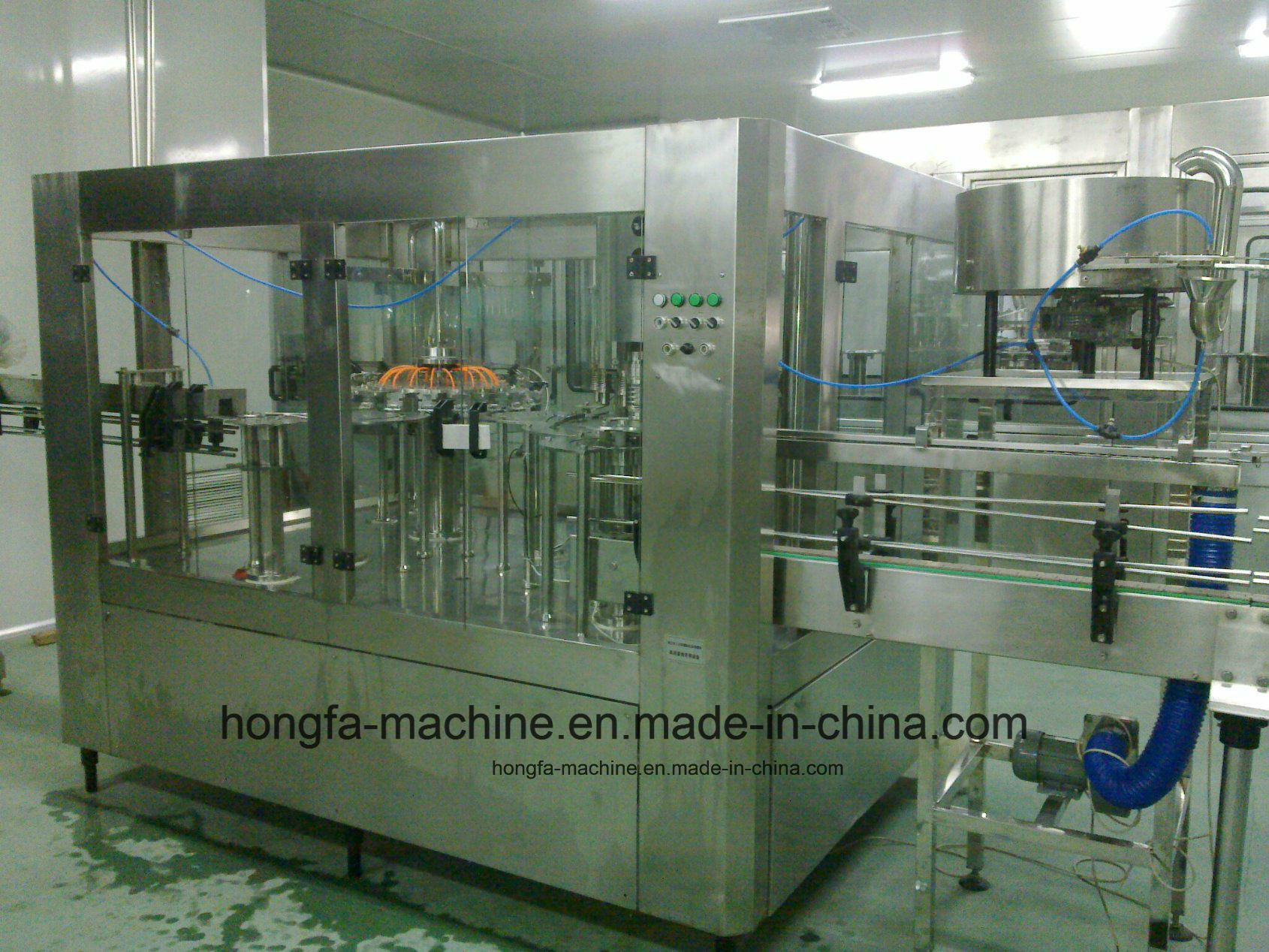 Series Full-Automatic Water Filling Machine
