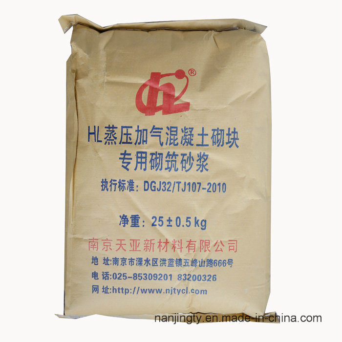Hl Special Surface Mortar for Autoclaved Aerated Concrete Block