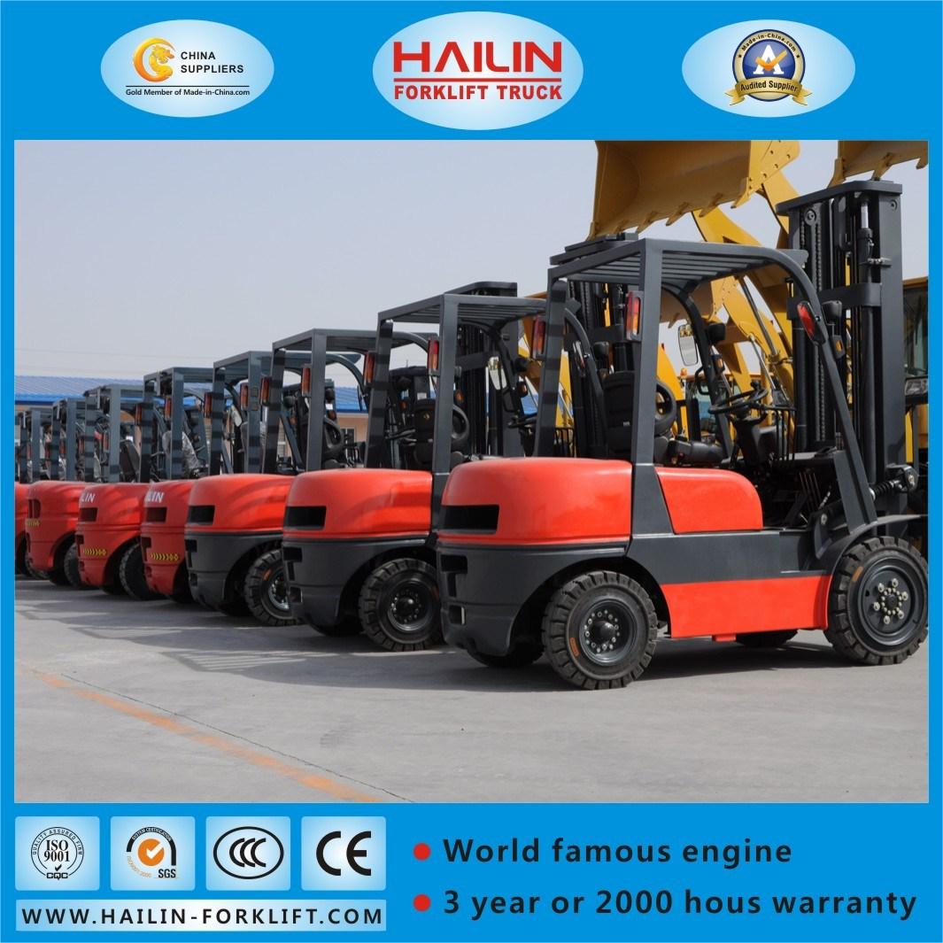 3.5ton Diesel Forklift, Isuzu 4jg2 Engine