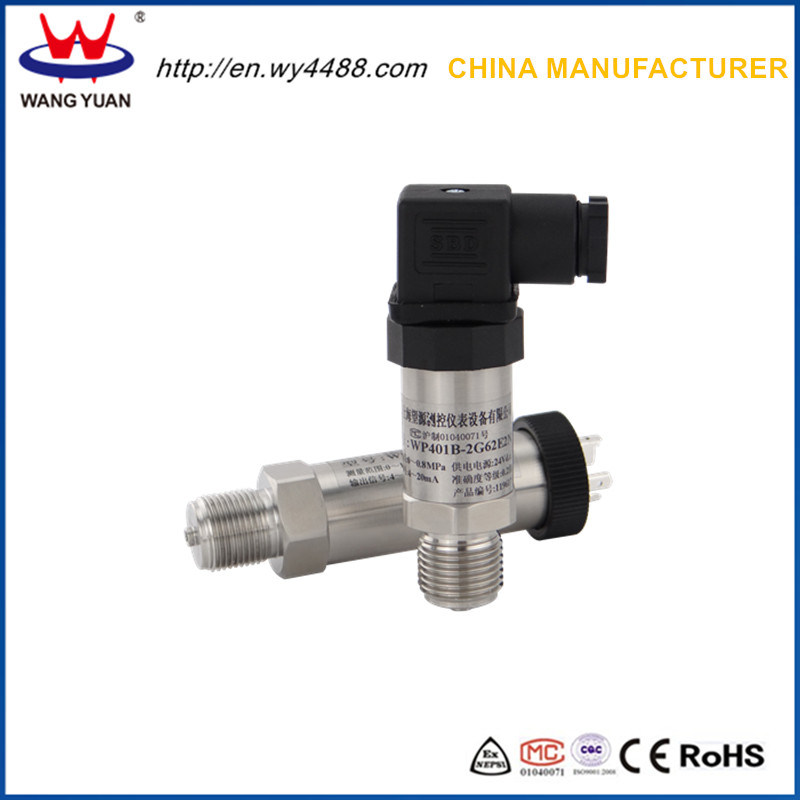 Ce Certificated Water Pump Pressure Transmitter