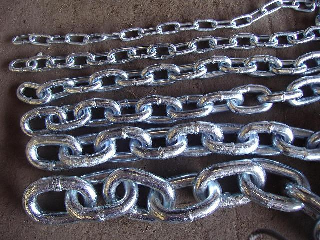 DIN Standard Medium Link Chain Made From Manufactory