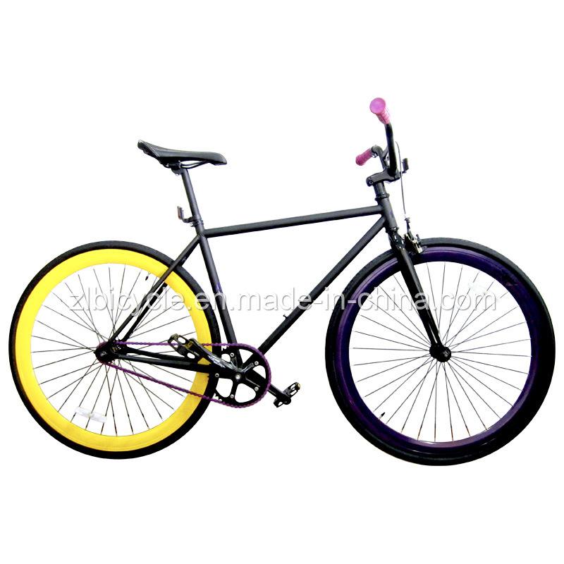 China 700c Hot Sale Cheap Single Speed Fixed Gear Bike