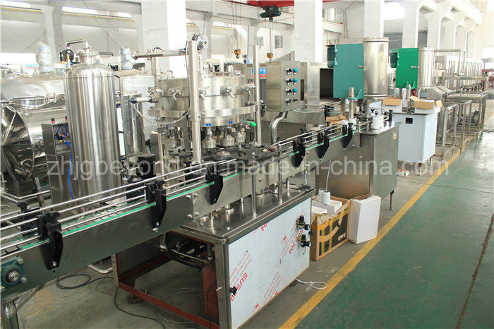 Automatic Can Filling Machinery with PLC Control
