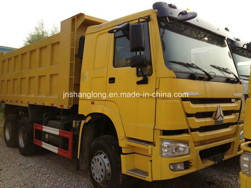 HOWO 6X4 290HP Dump Truck Zz3257m3241