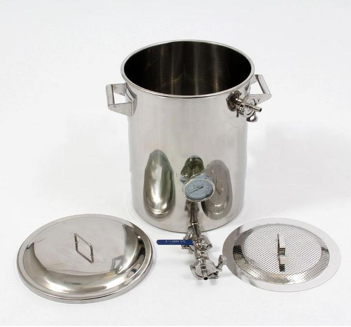 15gallon Stainless Steel Mash Tun Brew Kettle with False Bottom