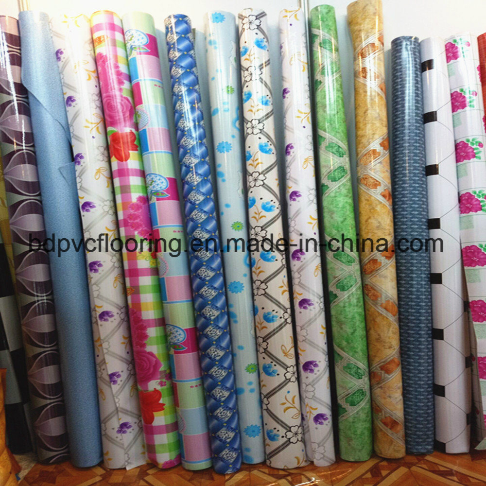 Heavy Duty Place Use PVC Vinyl Rolls Commercial Flooring 1.0mm 1.5mm