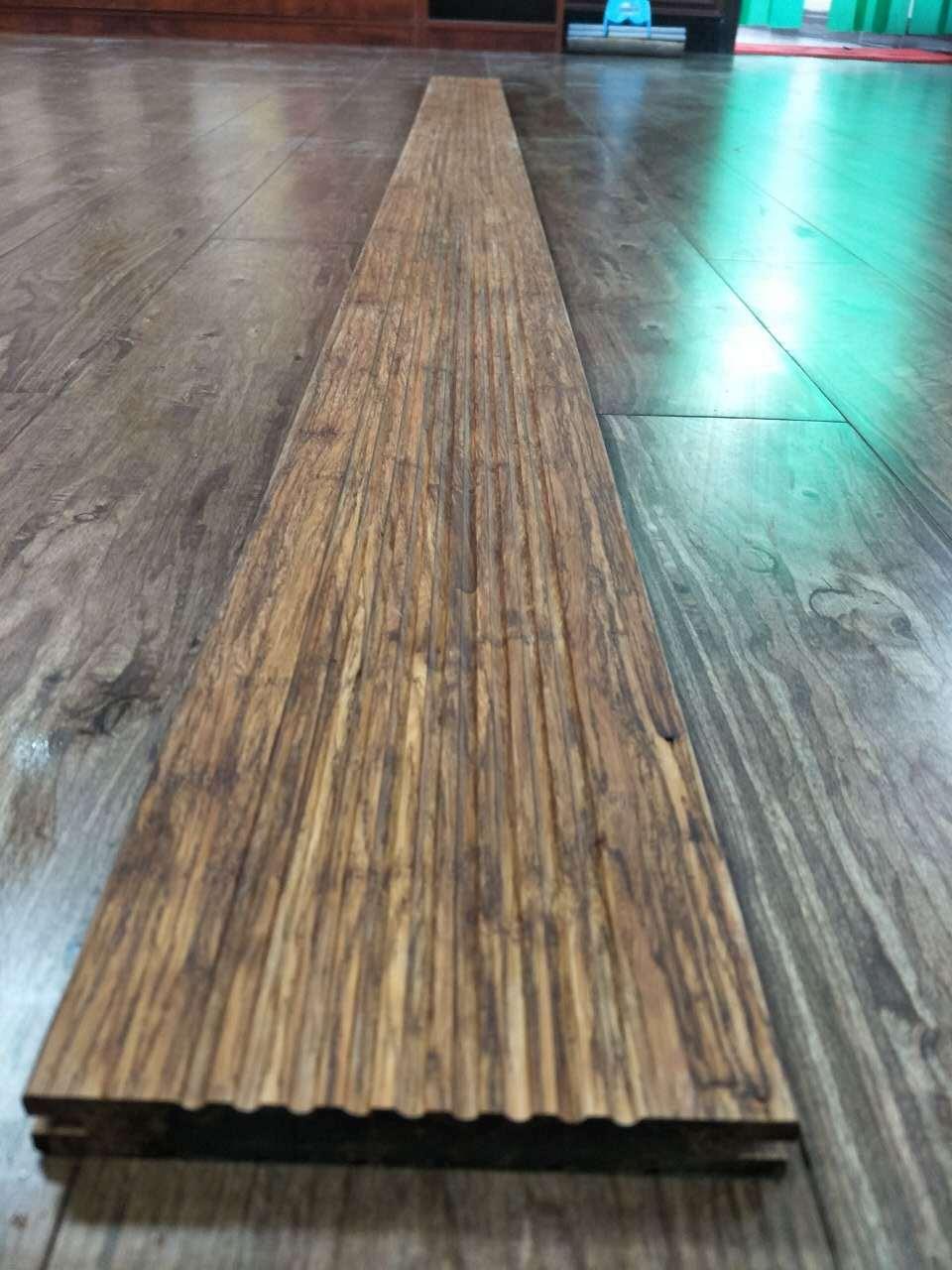 Fashion Bamboo Outdoor Garden Flooring