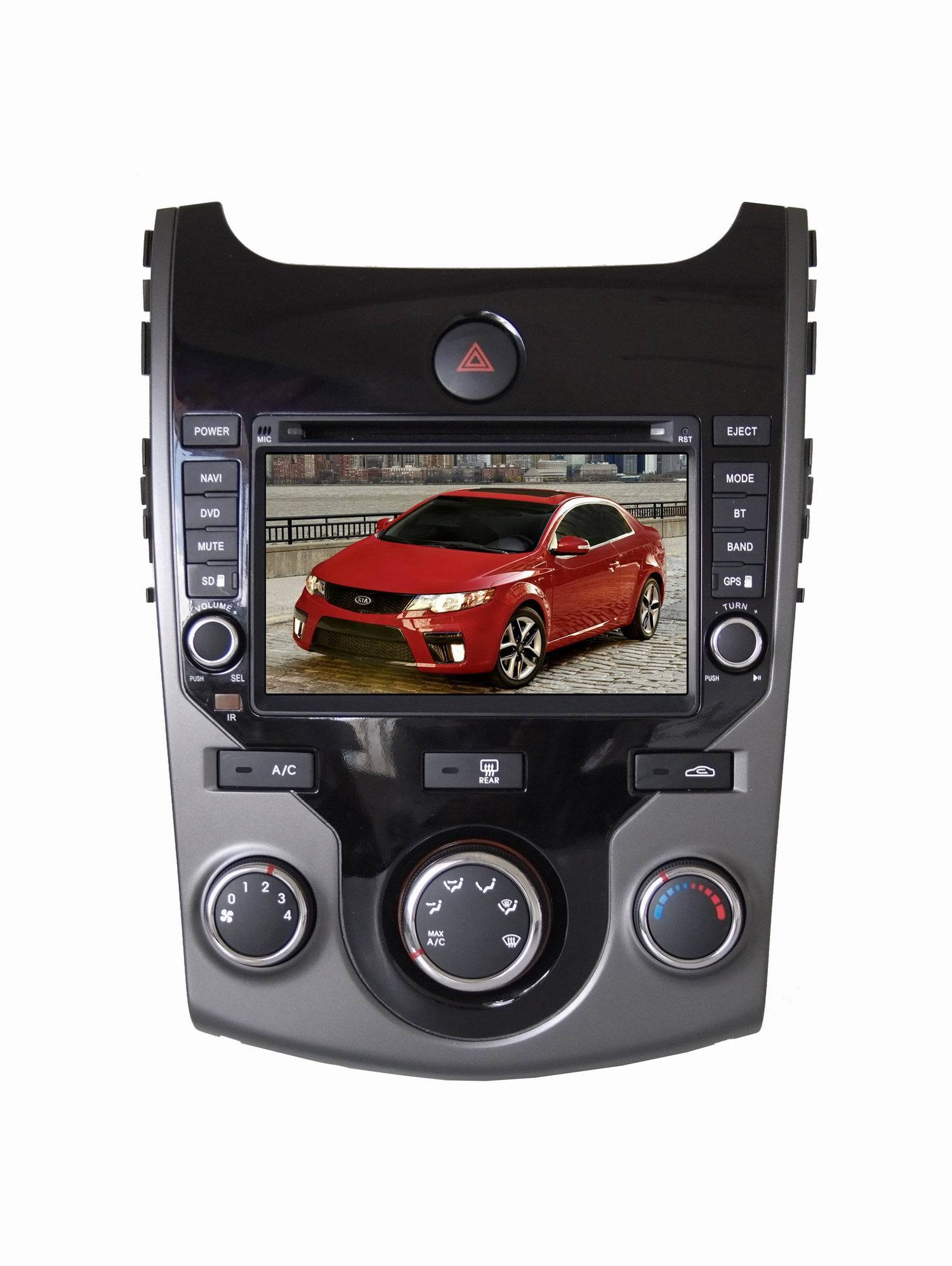 2din 7 quot in dash car dvd player for kia new forte with tv ipod photos pictures