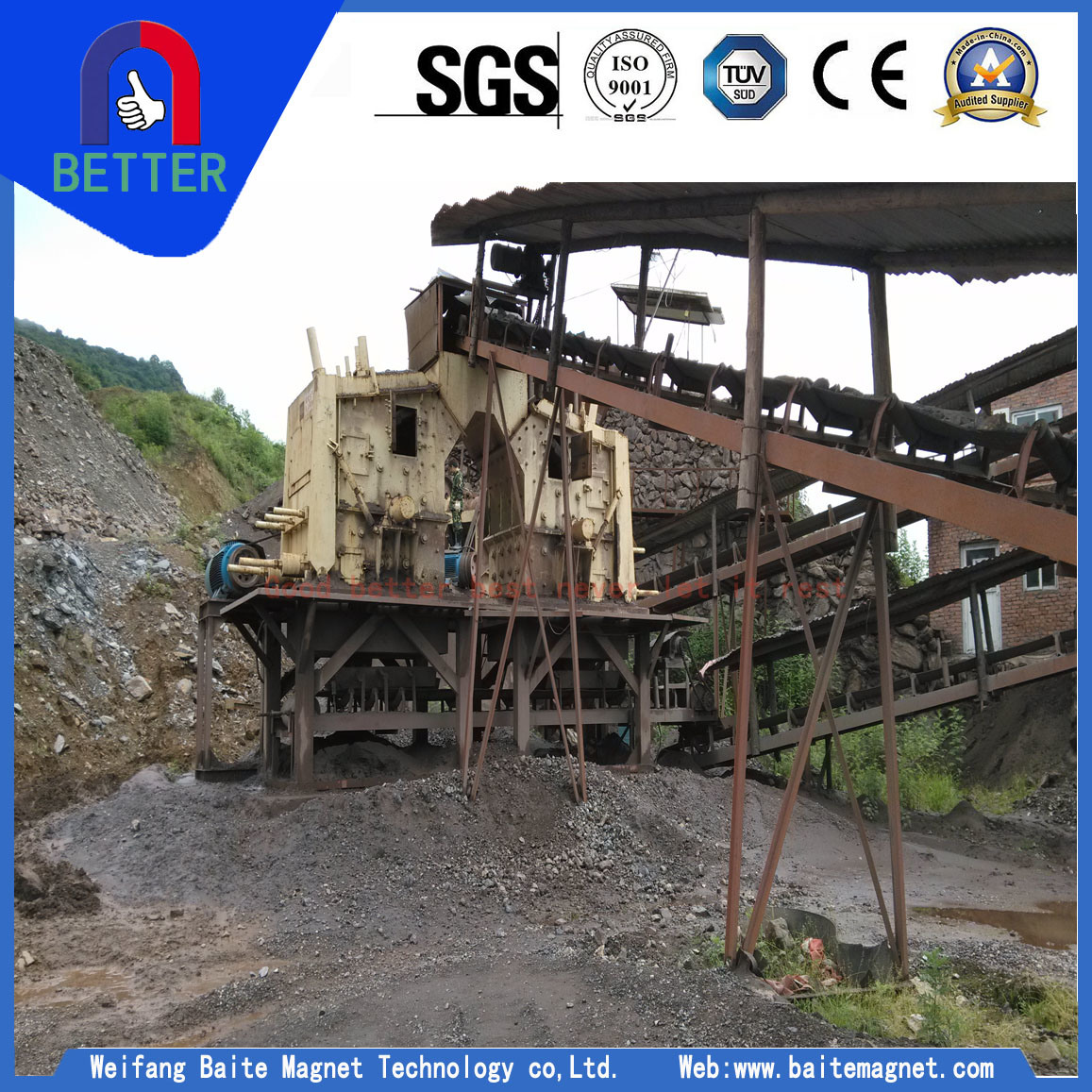 Px Series New Type Stone/ Mining/Mineral /Fine Crusher for Mining/Metallurgy/Buliding Materials/Sand/Ceramics