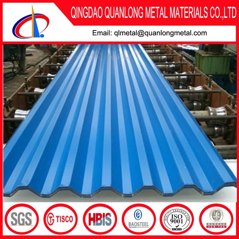 Prepainted Galvanized Steel PPGI Roofing Sheet