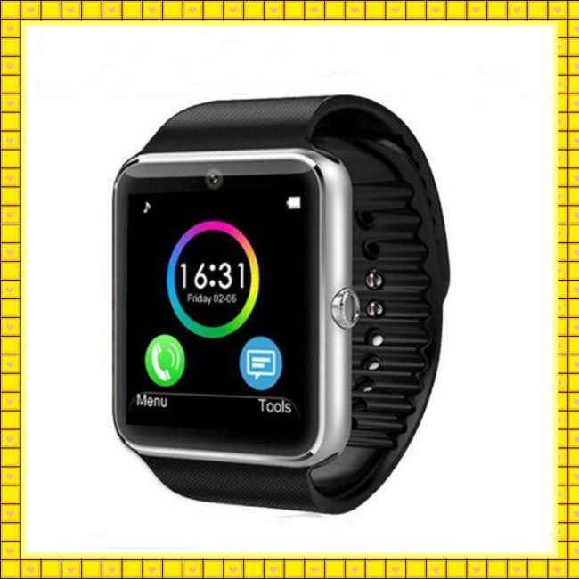 New 1.55 Inch Bluetooth Pedometer Gt08 Smart Watch (gt08)