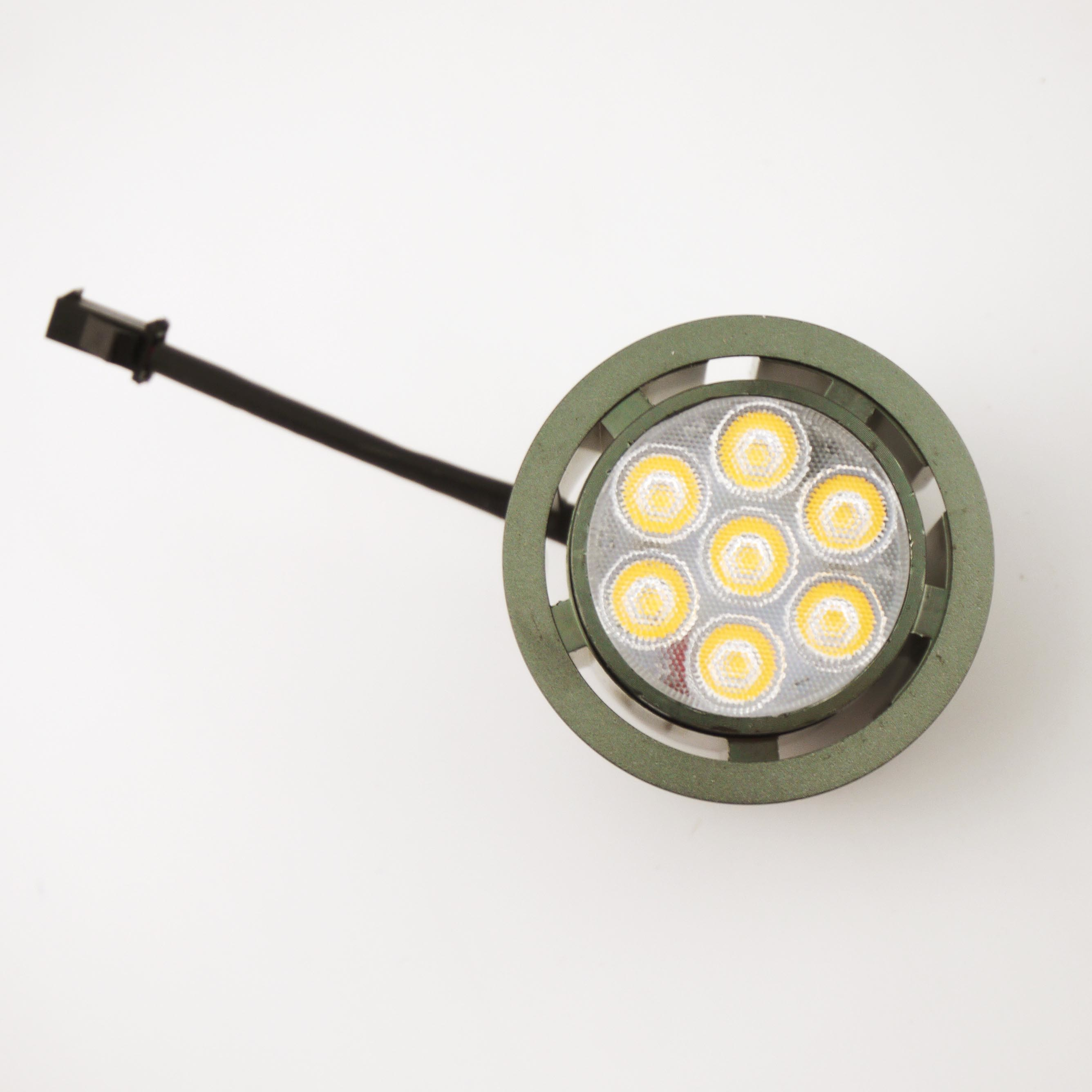 Pure Aluminum 7W SMD External Power Supply Downlight LED Bulb (LT8000-7W)