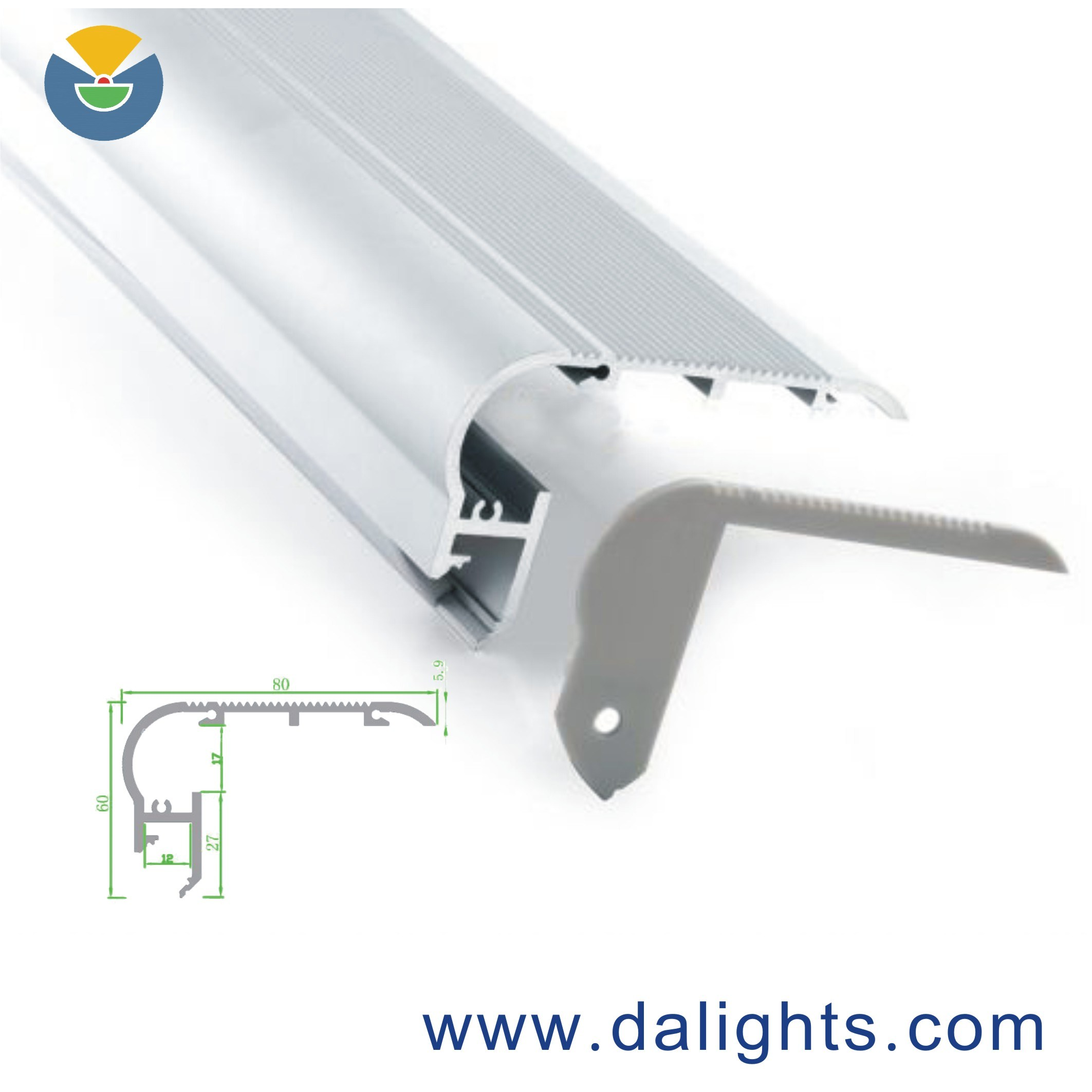 LED Aluminum Profile Dal8060