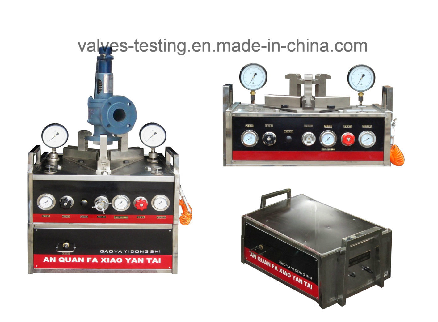 Mini Portable High Pressure Safety Valve Test Station