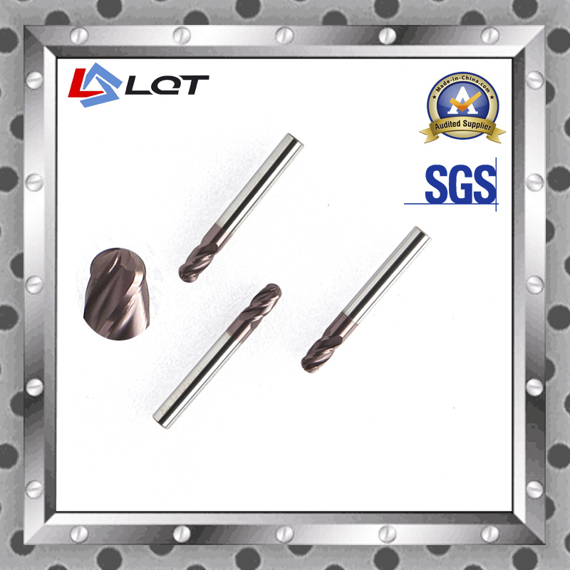 Tungsten Carbide Ball Nose End Mill for Aluminum