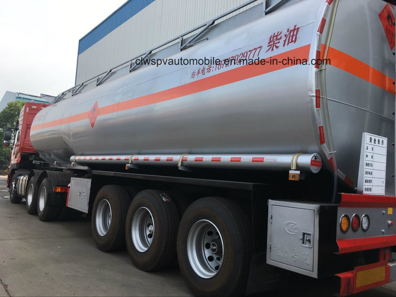 3 Axles Heavy Duty Fuel Tanker 35 Cbm 40 Cbm 45 Cbm 50 Cbm 55cbm Tank Trailer
