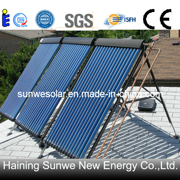 China Solar Water Heater Collector Cost Free Energy