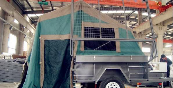 Hard Floor Offroad Camper Trailer (HLT07)