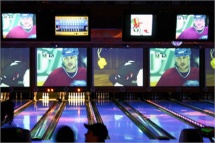 Bowling Equipment Bowling Alley (NC-BE115)