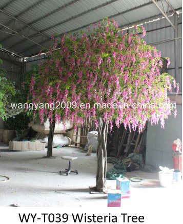 Decoration Beautiful Artificial Fake Synthetic Wisteria Tree