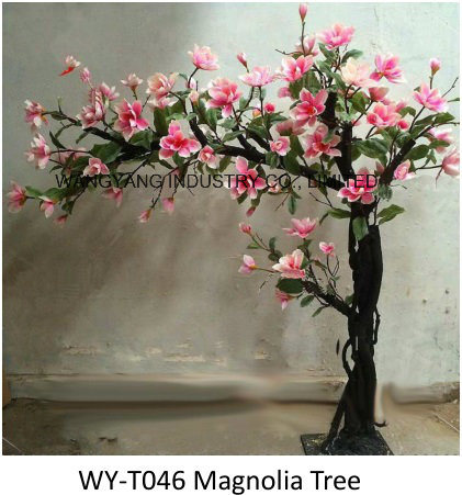 Decoration Beautiful Artificial Fake Synthetic Magnonia Blossom Tree