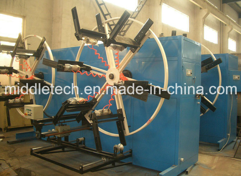 HDPE/PPR/PVC Big Diameter Plastic Pipe Winder Mt20-110