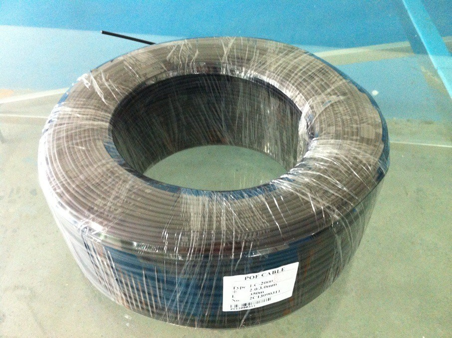 LC/LCV End Glow Optical Fiber Cable for Lighting Decoration