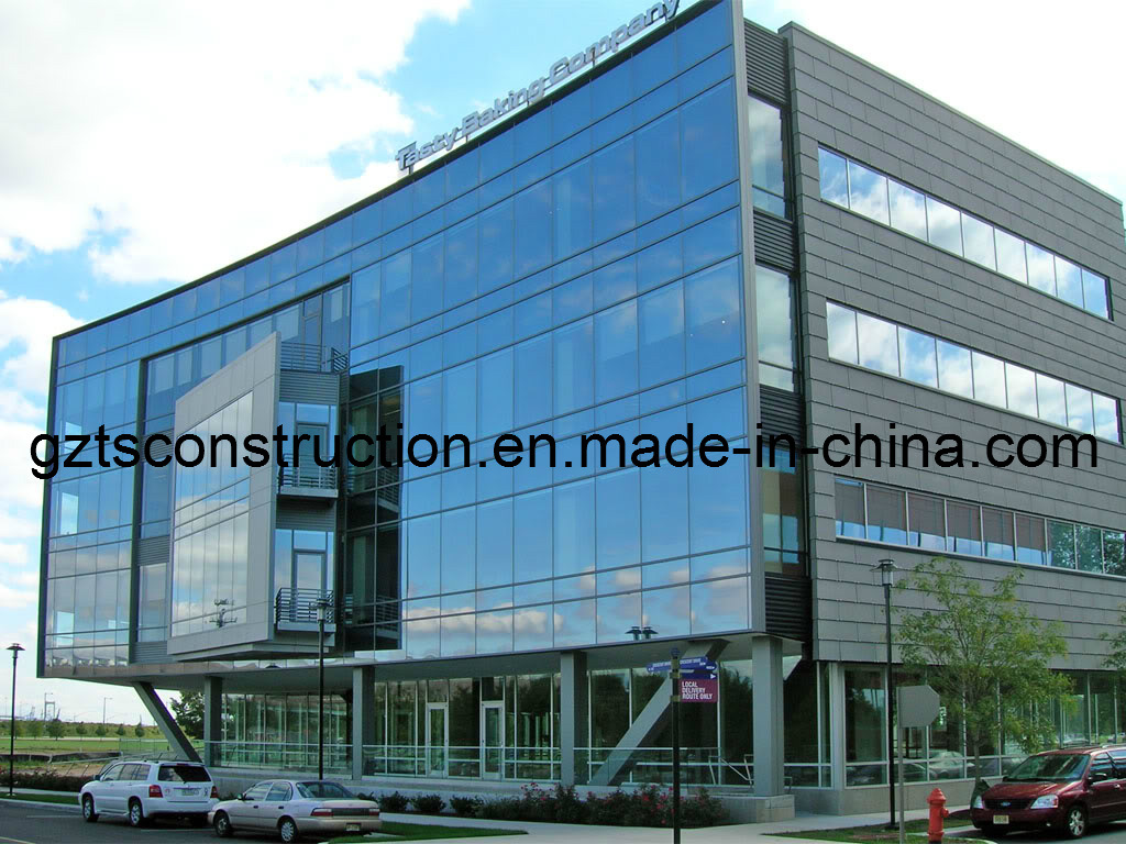 Aluminium Curtain Wall with High Quality