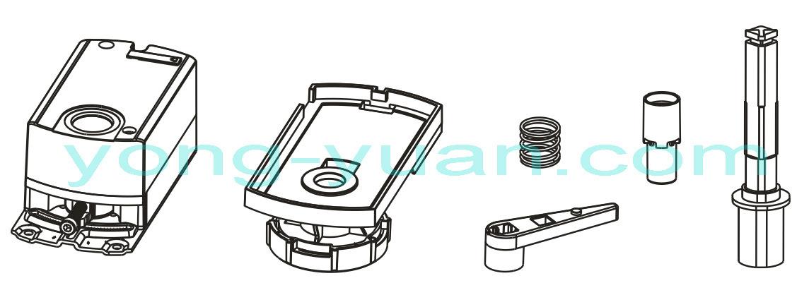 Proportional Integral Electric Ball Valve Motorized Valve (BS-878.32-2)
