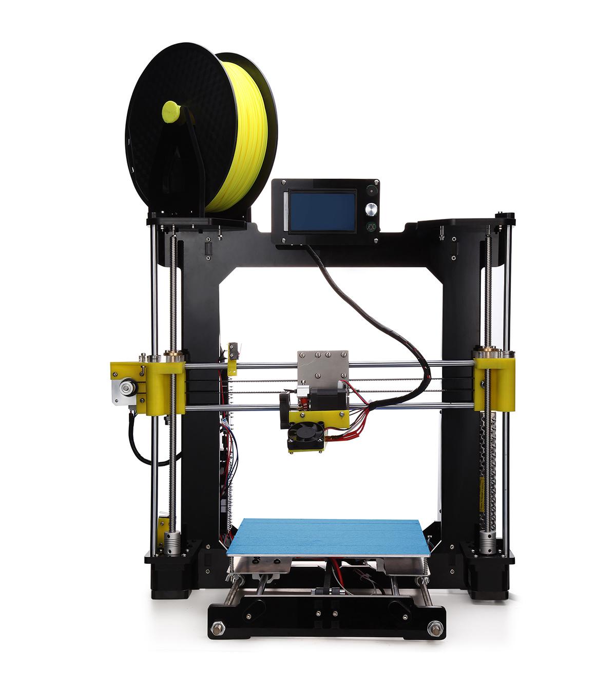 2017 Acrylic Rapid Prototype Desktop DIY Fdm 3D Printer Machine