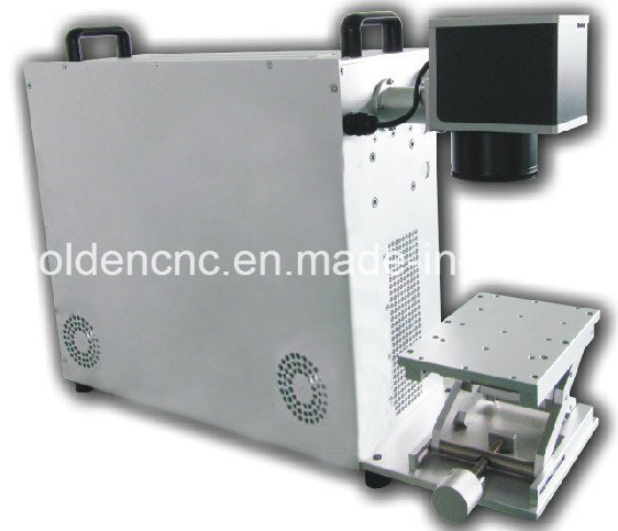 110X110 Working Area 30W Portable Fiber Laser Max Used for Metal