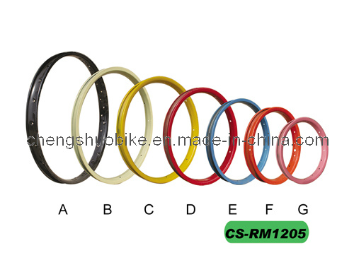 Colorful Bicycle Rim (CS-RM1205) in Good Quality