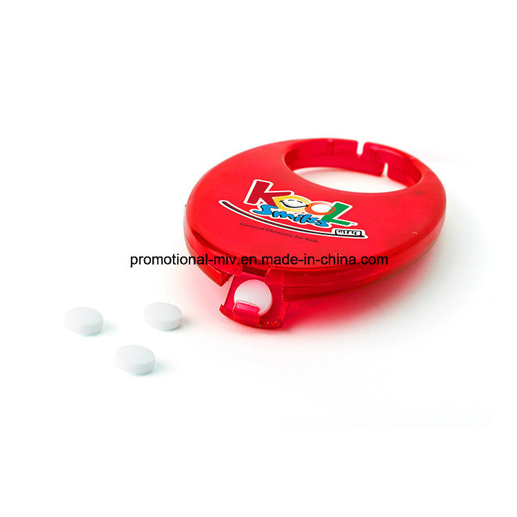 Fashion Pill Box with Locking Hook Function